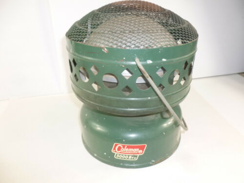 Coleman 5000 BTU Model 511A Space Heater 1967 Green Vintage Never Used Unfired
