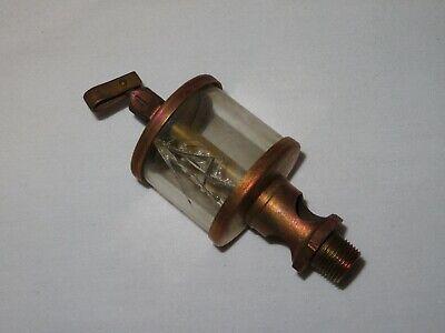 Vintage Brass Lubricator Oiler Hit Miss Engine