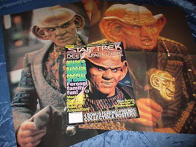 STAR TREK  , Deep Space Nine  # 6 , Film Magazin USA / Original , mit 2  POSTER