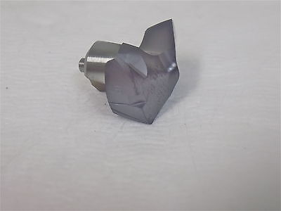 Kennametal Carbide Kentip Replaceable Drill Tip 0.8438 140 Incl Angle 4159294