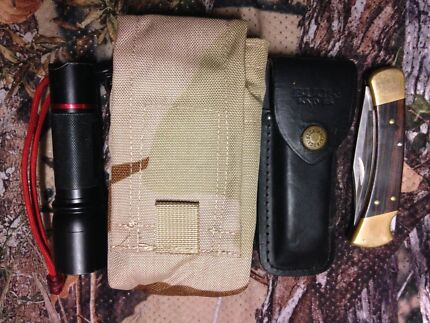 Hunting Hiking Military , Molle Utility Pouch ,U.S.A Made West Perth Perth City Preview
