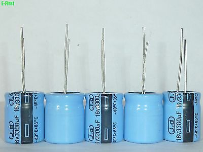 5pcs 16v3300uf 16x18mm J.d Jd 85 Top Grade Electrolytic Capacitors
