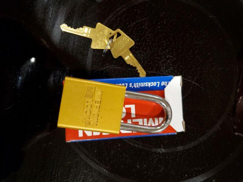 AMERICAN LOCK A1106YLW Lockout Padlock