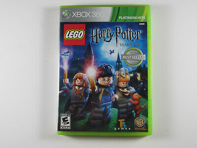 LEGO Harry Potter: Years 1-4 - Xbox 360 Complete - Tested - Works - Adult Owned