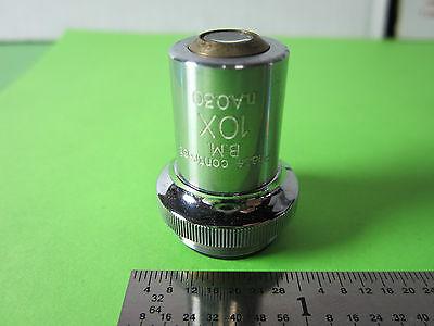 Optical Microscope Part Unitron Objective Bm Phase Contrast 10x Optics Binb5-32