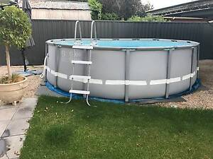 ULTRA FRAME POOL ROUND - 16FT WITH SAND PUMP Walkerville Walkerville Area Preview