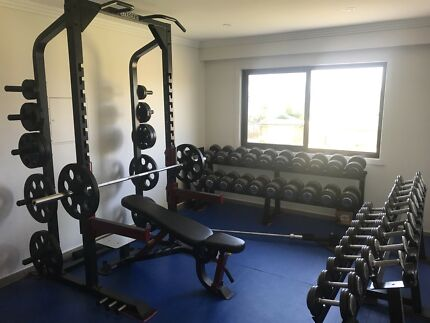 Commercial grade gym set