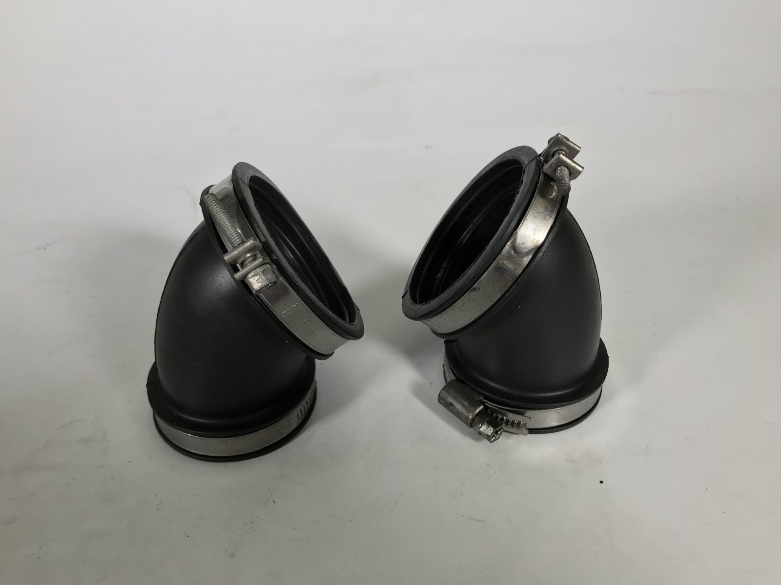 1994-on Ducati 916 748 996 998 air intake PAIR of velocity stacks 80210151A NEW!