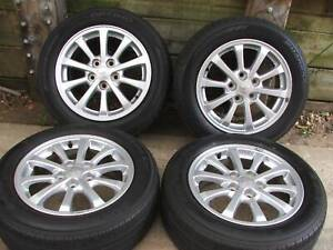 LANCER VRX 16 INCHES ALLOY WHEELS AND TYRES