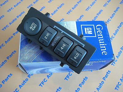 Chevy GMC Trade SUV 4x4 Transfer Case Shift Selector Factory GM