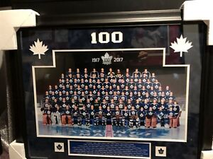 Leafs 100 Anniversary Photo Collage