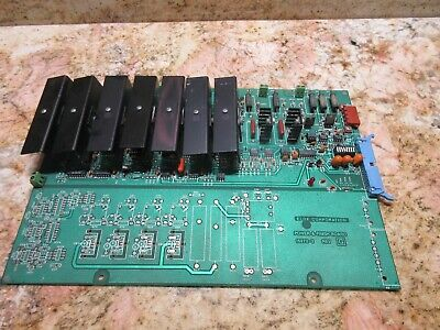 Elox Corp Power Finish Board 15272-3 Rev.g Warranty
