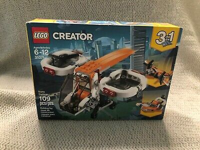 Lego Creator 3 in 1 Drone Explorer / Plane / Swamp Boat NEW