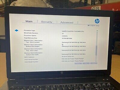 HP Zbook 17 G2 Core i7-4910MQ 2.90Ghz 32 GB, 256 SSD, NVidia K4100M No OS
