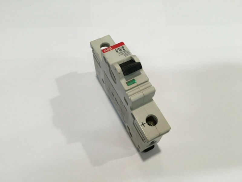 ABB : Circuit Breakers : 1 Pole : 16 Amp : S 281 UC K 16 A