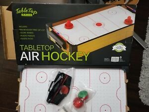 Table top air hockey brand new