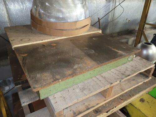"30"" x 18"" Cast Iron Inspection/Layout/Setup Table 5/8"