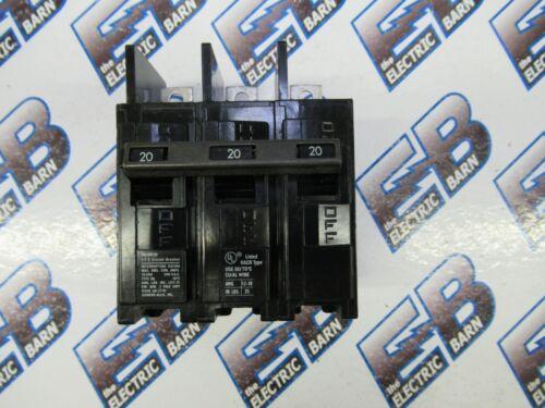 SIEMENS/ITE BQ3B020 3 Pole 20 Amp 240 Volt Circuit Breaker- NEW