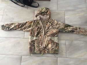 Child  2XL Cabelas Lined Camo Hunting Jackets