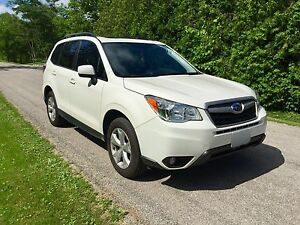 2016 Subaru Forester Limited AWD w/remote start & snows