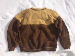 New 100% pure wool sweater (size large)