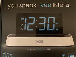 Ivee Digit Model iv1 Interactive Voice Controlled Digital Alarm Clock 137