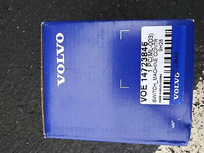 Volvo Construction Switch Part No 14723846 - New And In Box