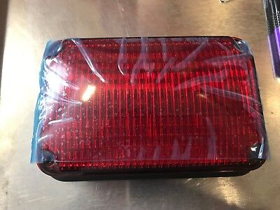 Whelen 60w02frr 600 Super-led Flasher 24v Red