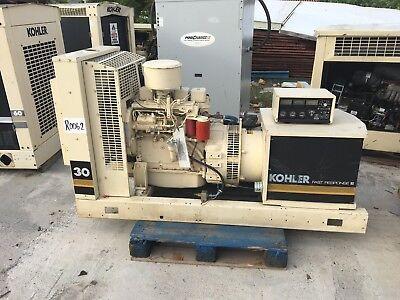 30 Kw Kohler Cummins Diesel Generator