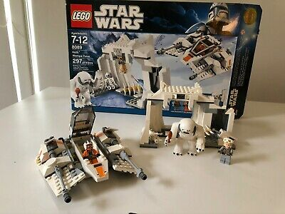 Lego Star Wars Hoth Wampa Cave Set 8089 Complete w/ box & manual