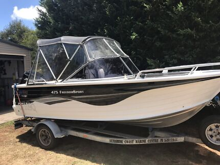 Quintrex Freedom Sport 475 Bowrider 75hp