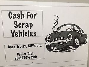 Cash for your unwanted vehicle HRM,valley