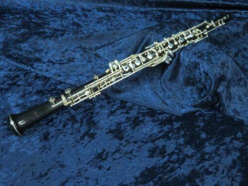 Renard by Fox 330 Artist Model Plastic Oboe Ser#11061 w/LH F Excellent Condition