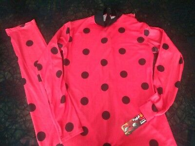 MIRACULOUS TALES OF LADYBUG & CAT NOIR COSTUME COSPLAY SUIT MASK LADY BUG RUBIES - Cat Lady Costumes