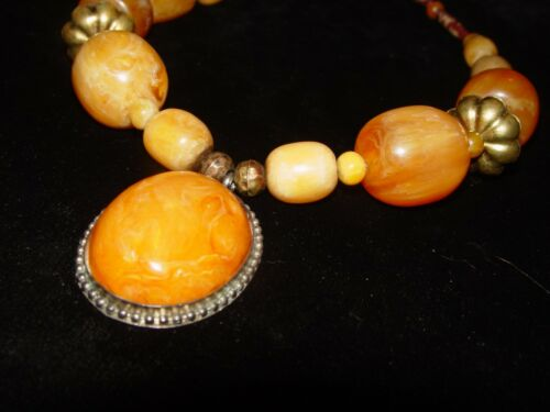 COPAL AMBER NECKLACE 217 GRAMS