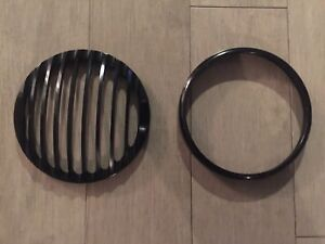 HARLEY DAVIDSON SPORTSTER IRON HEADLIGHT GRILL - NEW