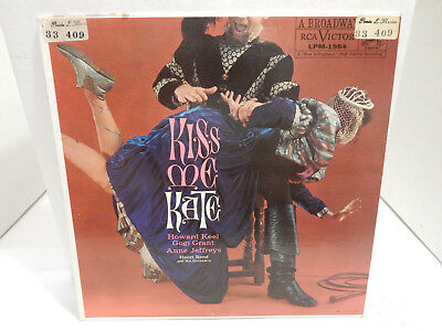 Kiss Me Kate Henri Rene RCA LPM 1984 dog silver letter label super clean VG++ LP