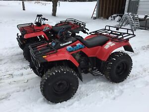 TRADE 2 ATVS FOR A TRACTOR