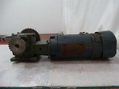 Boston Gear 22232300 Variable Speed Dc Motor 1 12hp 1750rpm V. Arm 180