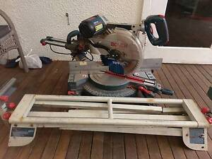 Drop saw Bosch twelve inch sliding compound mitre saw Cooranbong Lake Macquarie Area Preview