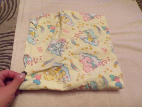 VTG 1983 Care Bears Baby Crib Sheet