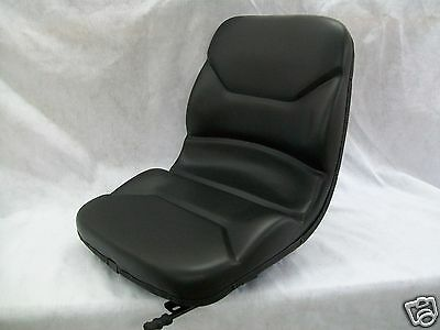 High Back Black Seat Bobcat S130s150s160s175s185s205s220skid Steer On
