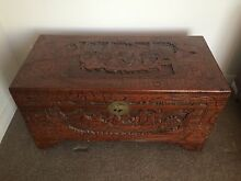 Camphor wooden chest / blanket box Botany Botany Bay Area Preview