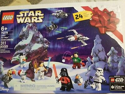 Lego Disney Star Wars Advent Calendar 75279 New Sealed 2020! IN HAND! HOT! 311pc