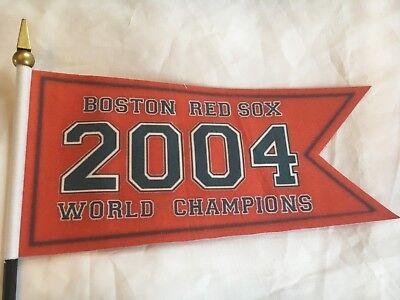 Boston Red Sox  2004 World Series Championship Replica Banner Mini Flag 7