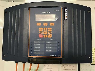 Pool Water Treatment - Prominent Aegis II Controller Water Treatment Cooling Tower Pool
