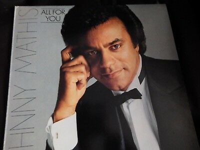 Johnny Mathis-All For You LP-CBS, S CBS 86115, 1980, 11 Track