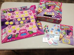 Shopkins Board Game - Complete Set