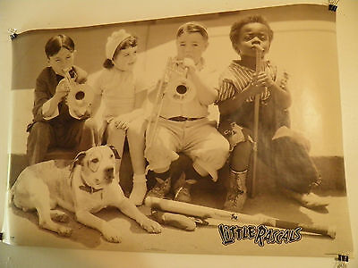 the Little Rascals Personality Poster  Head shop 23 by 35  Spanky Near Mint
