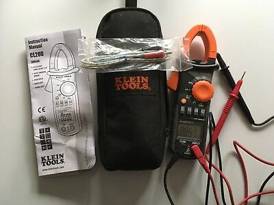 Klein 600a Ac Clamp Meter With Temperature